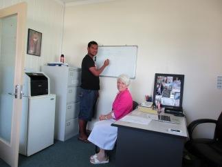 Joeli's Fijian lesson