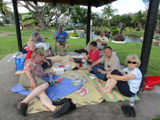 Our picnic under a Bure