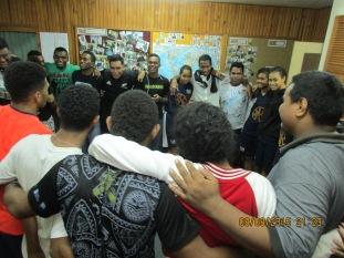 Mesake's Fijian blessing