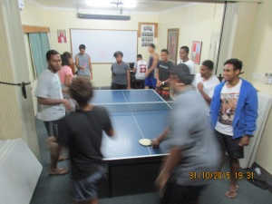 Around the world ping pong Fiji style