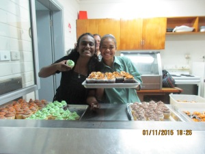 Lydia and Savaira have service with a smile down pat!