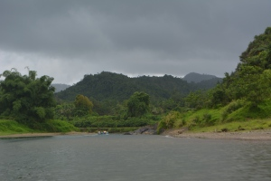 Up the Nauvua river