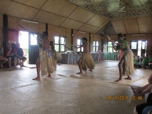 The meke (war dance)